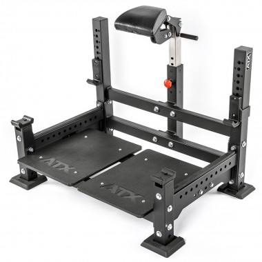 ATX Barbell Prone Row Rack