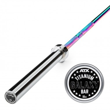ATX® Olympic Titanium Galaxy Bar CHROME