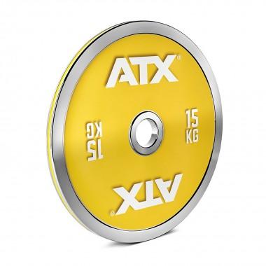 ATX® 15kg Steel Powerlifting Plate