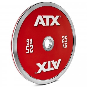 ATX® 25kg Chrome Powerlifting Plate