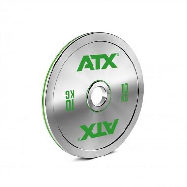 ATX® 10kg Chrome Powerlifting Plate