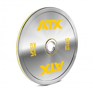ATX® 15kg Chrome Powerlifting Plate