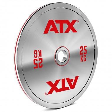 ATX® 25kg Chrome Powerlifting Plate