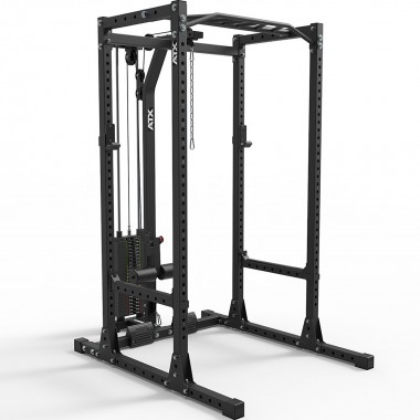 ATX® Power Rack 655 Short Distance  System with 115 kg Pin Loaded Lat Tower