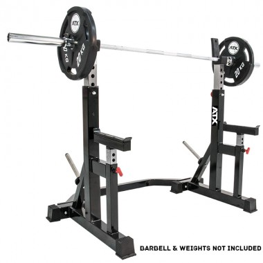 ATX® Commercial Adjustable Squat Rack