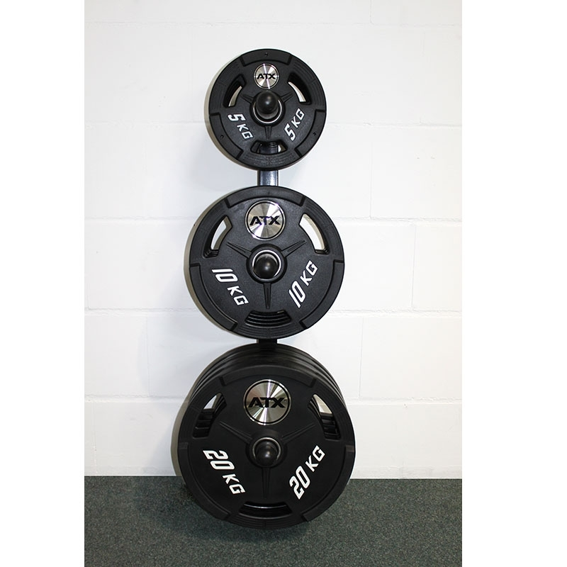 ... Wall Mounted Olympic Weight Rack ...  sc 1 st  Samu0027s Fitness & Wall Mounted Olympic Weight Rack | 300kg load rating| BB-3021 ...