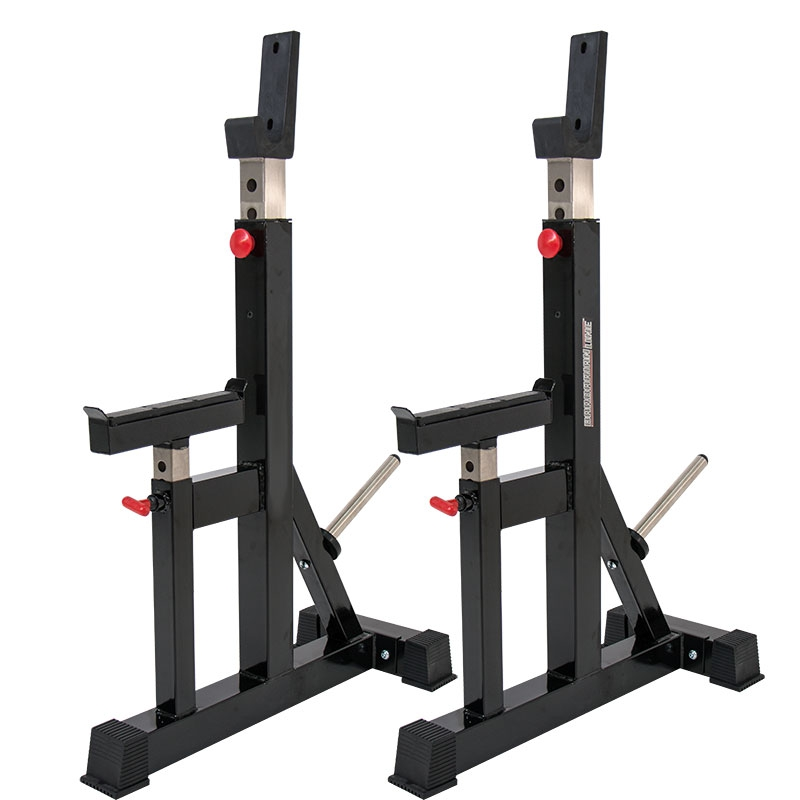 gym stands olympic squat infinity equipment free standing exigo rack racks