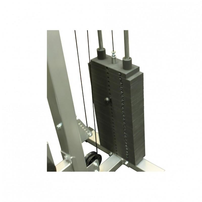 lat pulldown machine weight stack