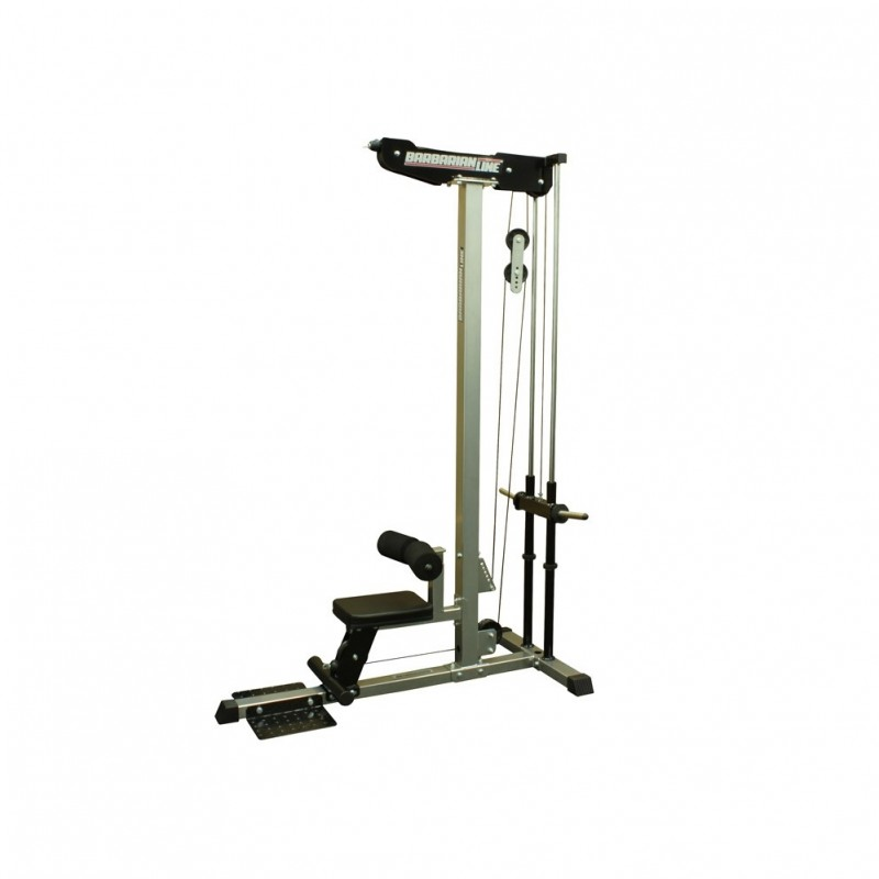 Single Stations Barbarian Lat Pulldown Plate LoadedPlate Loaded Lat Pulldown Machine