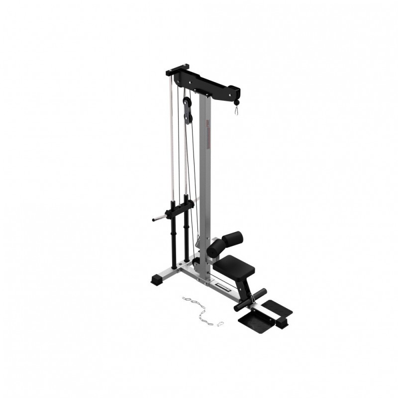 cable row lat pulldown machine