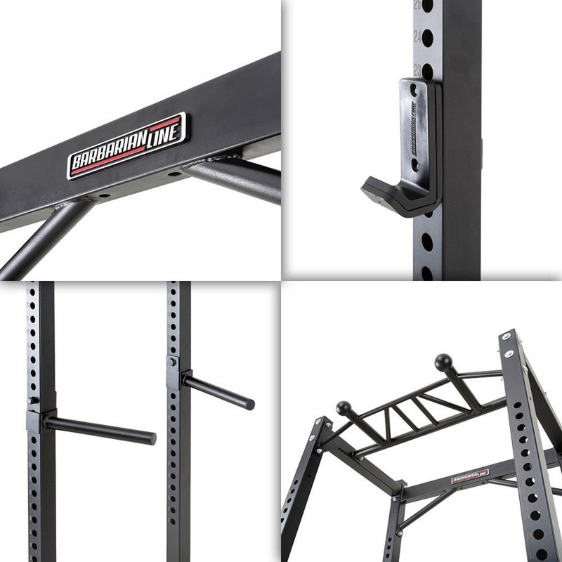 Barbarian Power Cage System Plate Loaded Package Sam S