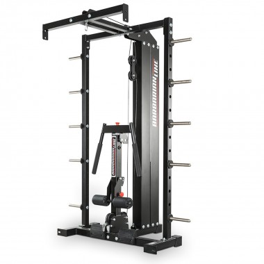 Barbarian Smith Cable Rack Lat Option Weight Stack