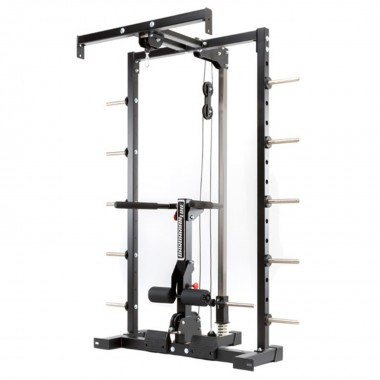 Barbarian Lat Option Smith Cable Rack
