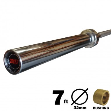 7ft 1500lbs Olympic Barbell - Copper Bushing