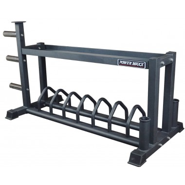 Power Maxx Bumper & Barbell Rack
