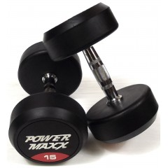 Round Rubber Dumbbell Pairs