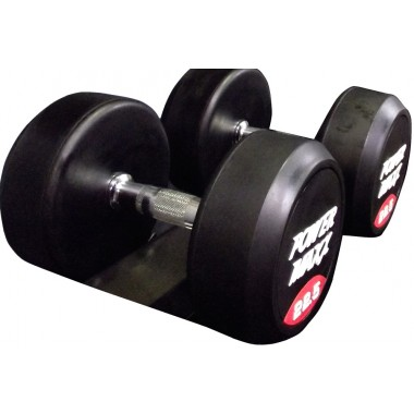Rubber Dumbbell Pairs
