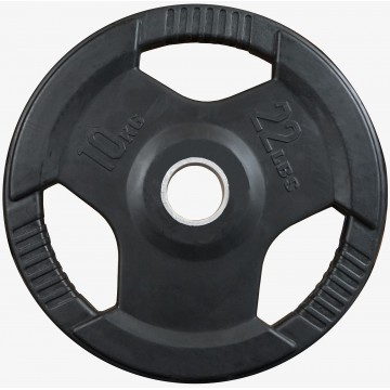 Rubber Coated  10kg  Olympic Plate