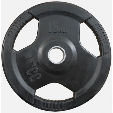 Rubber Coated  15kg  Olympic Plate