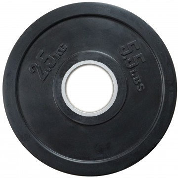 Rubber Coated  2.5kg  Olympic Plate