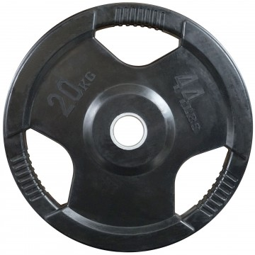 Rubber Coated  20kg  Olympic Plate
