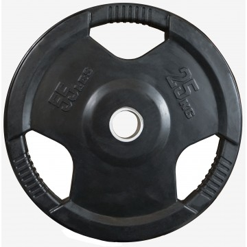 Rubber Coated  25kg  Olympic Plate