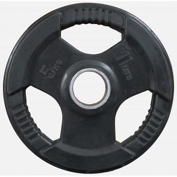Rubber Coated  5kg  Olympic Plate
