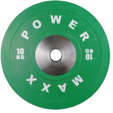 10kg Premium Olympic Bumper Weight Plate