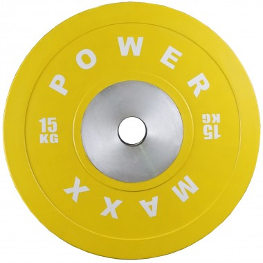 15kg Premium Olympic Bumper Weight Plate