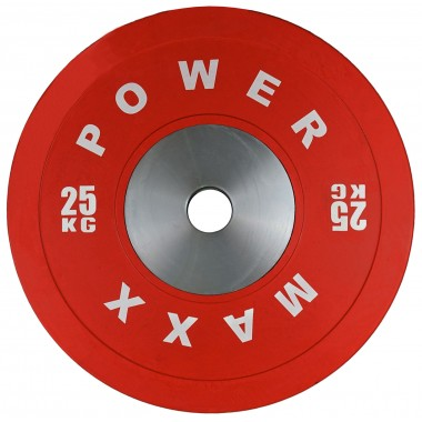 25kg Premium Olympic Bumper Weight Plate
