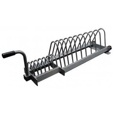 Bumper Weight Plate Toaster Rack