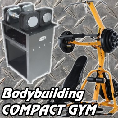 Bodybuilding Compact Gym