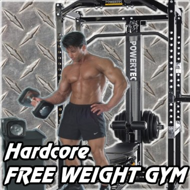 Hardcore Free Weight Gym