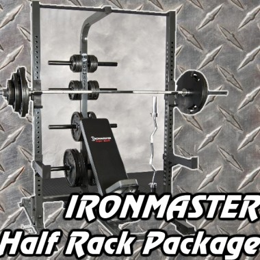 Ironmaster Half Rack Package