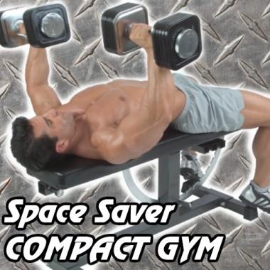 Space Saver Compact Gym