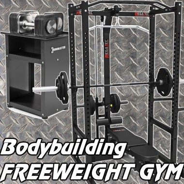 Bodybuilding Free Weight Gym