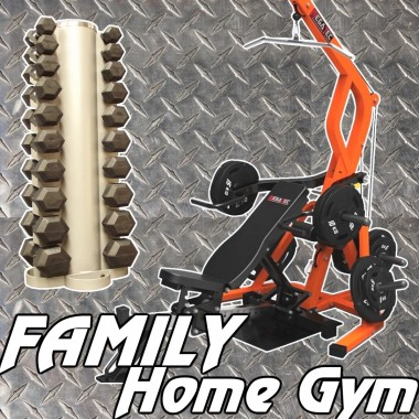 Megatec Triplex Family Home Gym