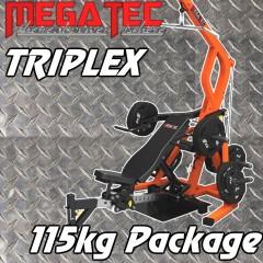 Megatec Triplex 115kgs Package
