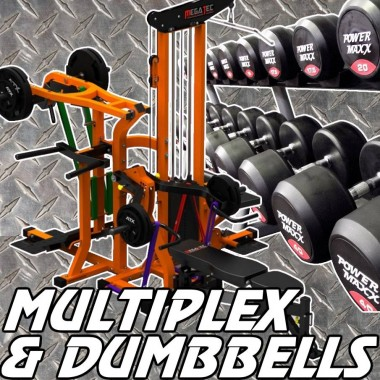 Megatec Multiplex and Dumbbell Gym