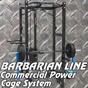Joshs Barbarian Power Cage Gym