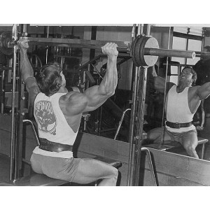 Megatec Smith Machine and Half Racks with Ironmaster Super Bench