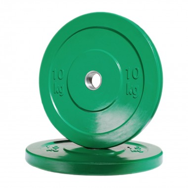 10kg Olympic Bumper Weight Plate