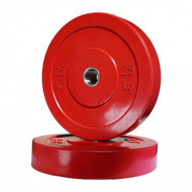 25kg Olympic Bumper Weight Plate