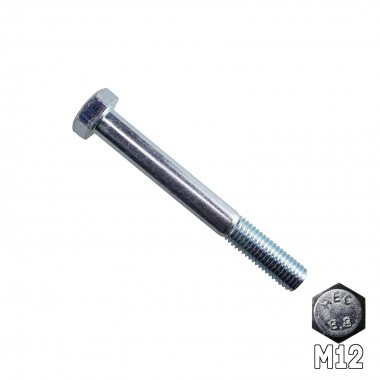 Hex Head Bolt M12 x 100mm