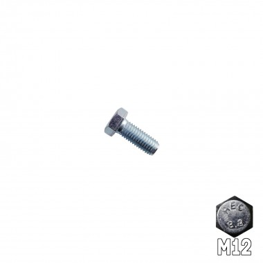 Hex Head Bolt M12 x 30mm