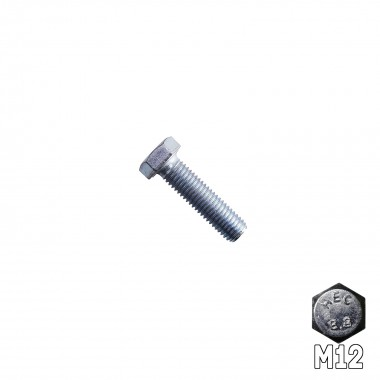 Hex Head Bolt M12 x 45mm