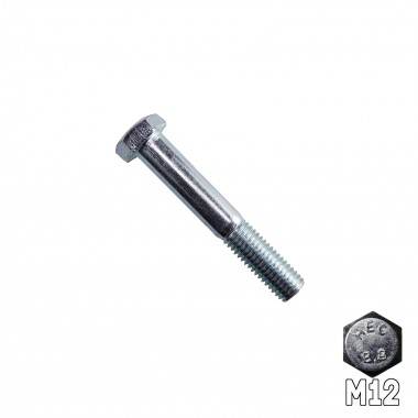 Hex Head Bolt M12 x 75mm