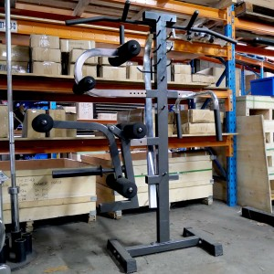 Ironmaster Attachment Organizer + 4 x Super Bench Attachments
