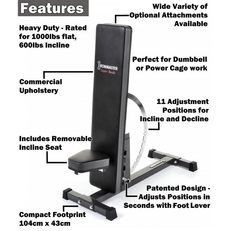 Delightful Iron Master Super Bench Part - 4: Weight Training Bench; Weight Training Bench ...