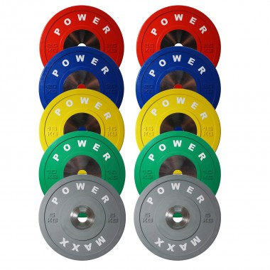 Power Maxx 150 kgs Olympic Training Bumper Set